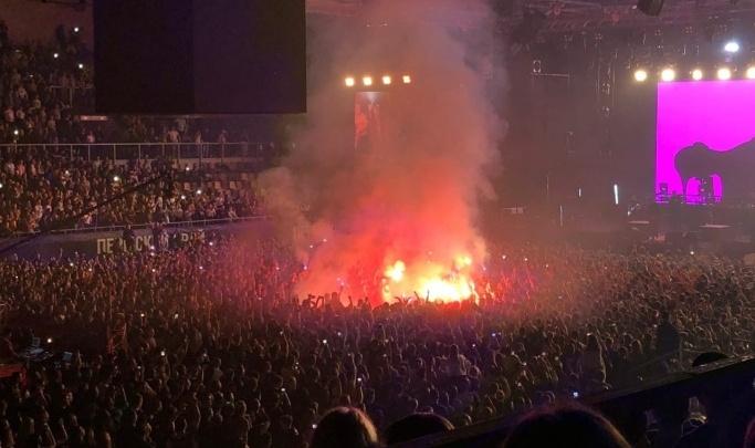 После концерта Макса Коржа в УДС «Молот» нашли нарушения пожарной безопасности