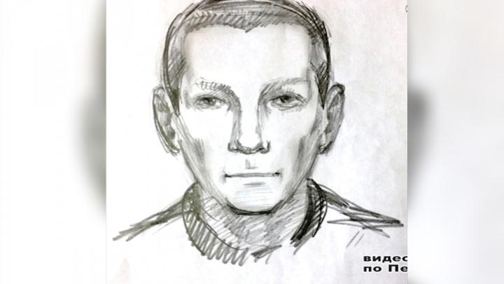 Полиция просит пермяков опознать насильника, который напал на женщину в микрорайоне Садовом