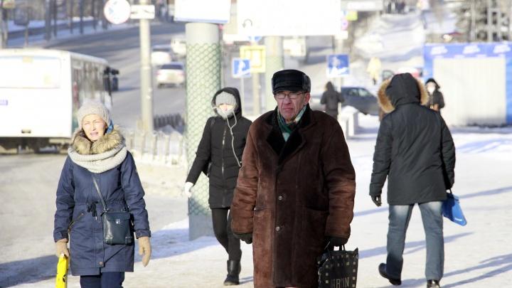 За три последних дня 25 омичей с обморожением попали в больницы на скорых