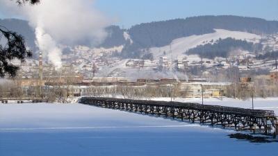 Самый длинный деревянный мост в России, который развалился в Белорецке, все же могут спасти