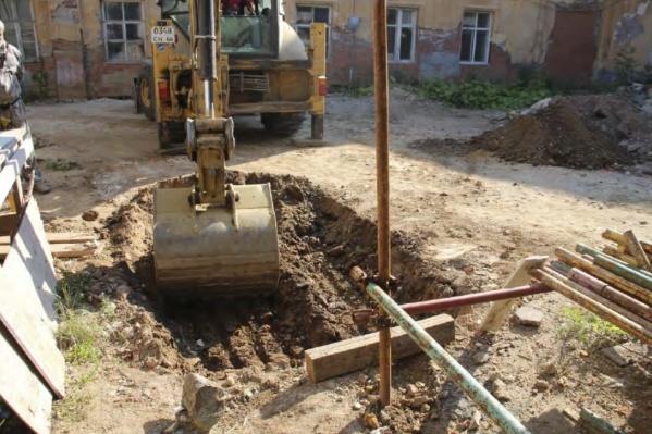 Раскопки на территории монастыря прошли в сентябре — октябре этого года