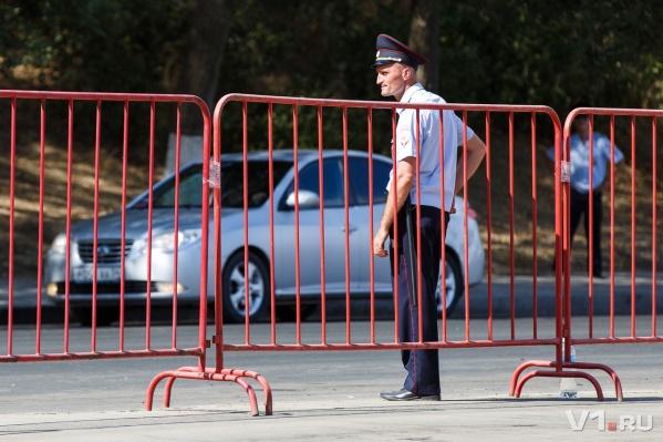 По традиции Волгоград стал пешеходным на время праздника