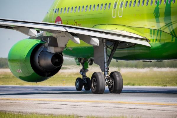 Полёты S7 из Новосибирска в Батуми начались 5 июня