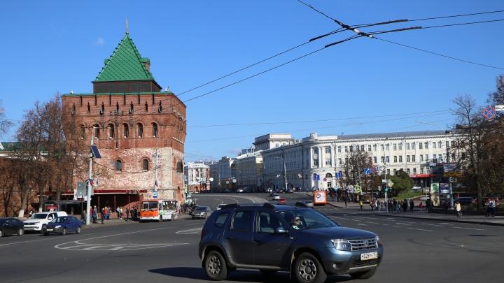 Транспортные изменения в сердце города: один из выездов с площади Минина закрыли до 11 июня
