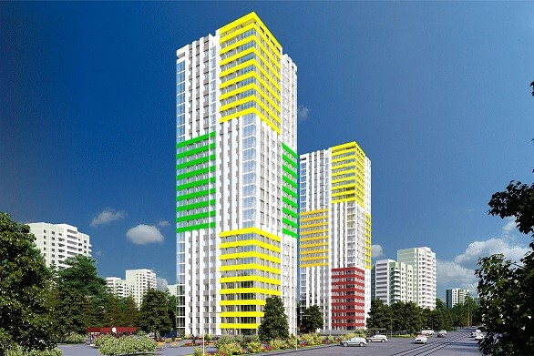 И темпы строительства быстрые, и цена низкая: на Сортировке близится сдача жилой высотки