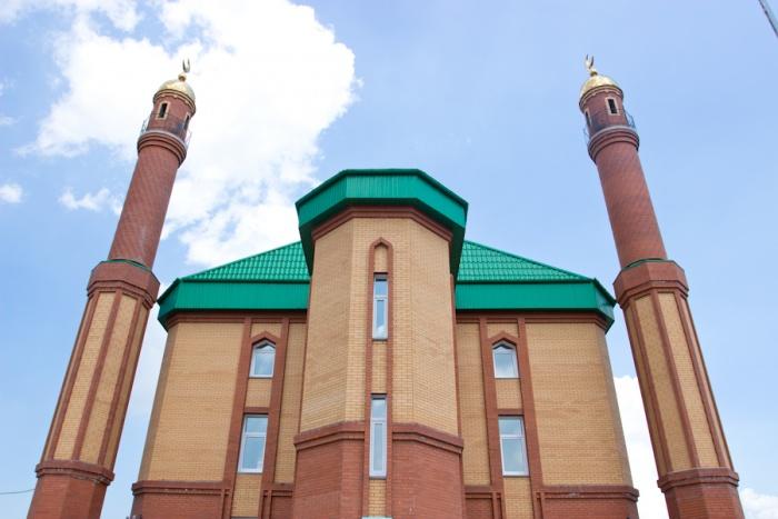 Мечеть на улице Мира в Новосибирске