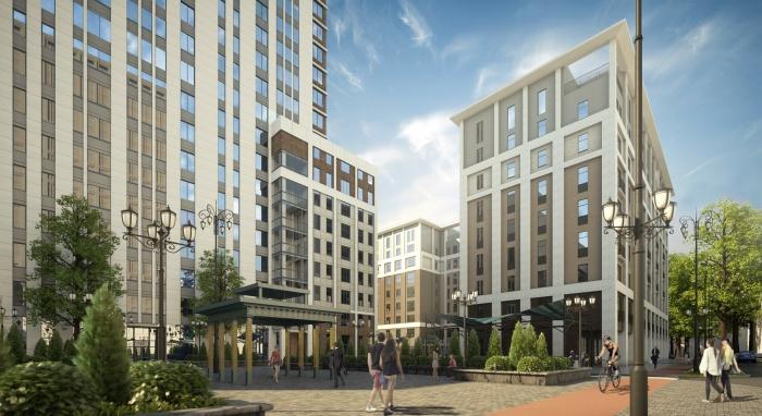 Кварталы «Екатерининского парка» сформируют новый жилой кластер в центре Екатеринбурга