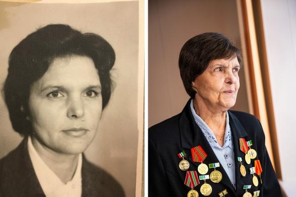 """Марьяна Петровна Семягина уже 40 лет работает в новосибирской больнице <nobr class=""""_"""">№ 25,</nobr> а всего её стаж насчитывает 70 лет"""