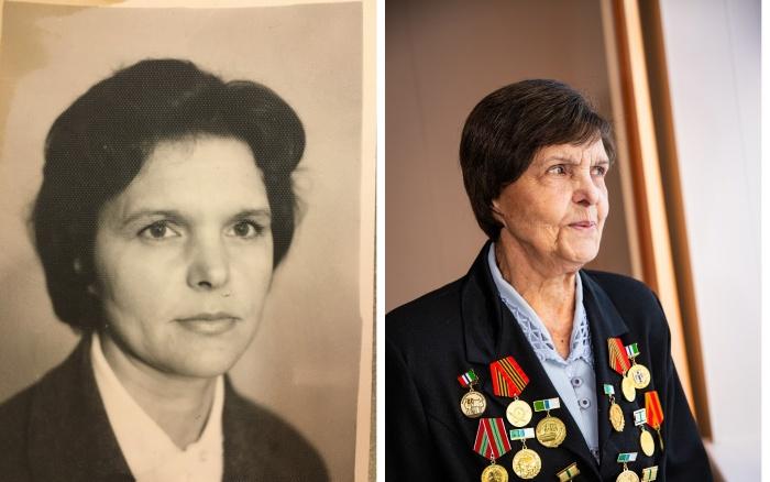 Марьяна Петровна Семягина уже 40 лет работает в новосибирской больнице  № 25,  а всего её стаж насчитывает 70 лет