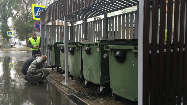 В мэрии рассказали, когда в Самаре приведут в порядок контейнерные площадки