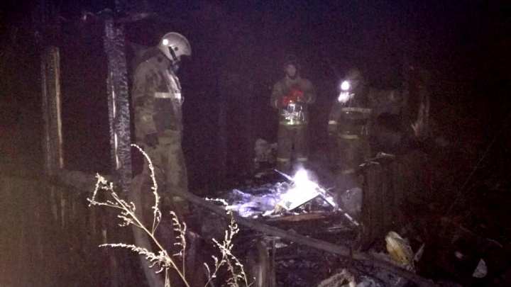 Ночной пожар в Ярославле: погиб 48-летний мужчина