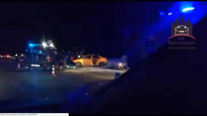 В страшной аварии на трассе погибли двое детей