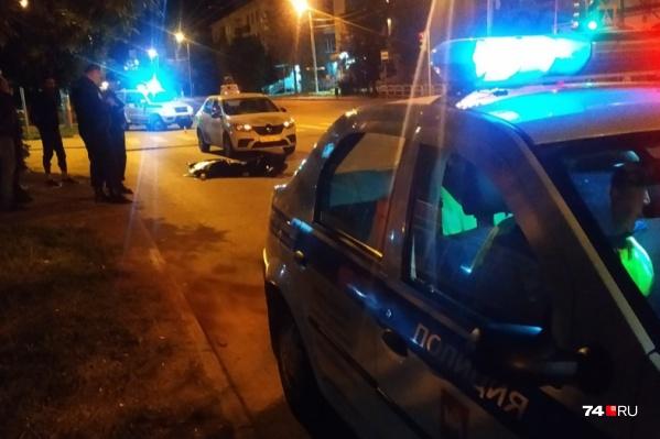 ДТП произошло на улице Новороссийской<br>