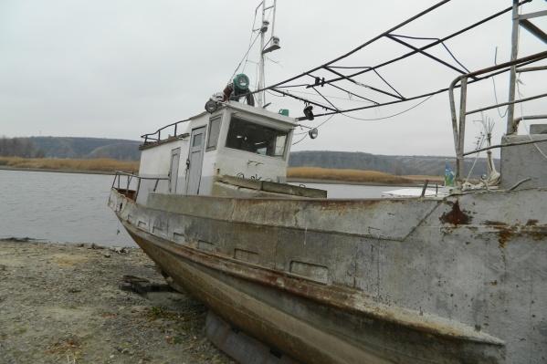 Корабли попали в объектив камеры волгоградского сталкера