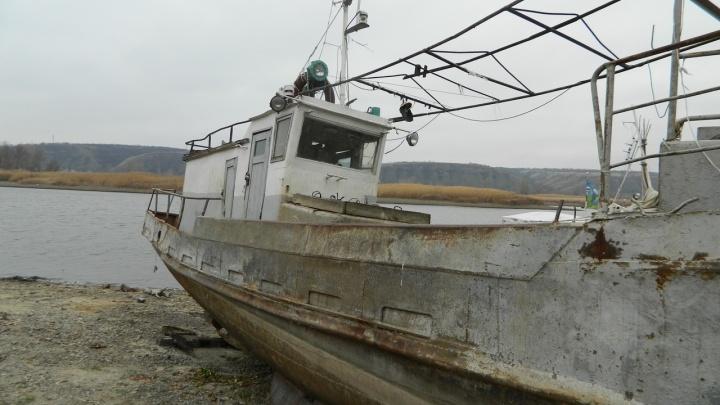 Волгоградский сталкер побывал на кладбище кораблей