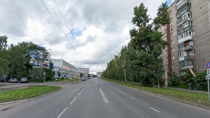 С 10 сентября из-за ремонтов в Архангельске перекроют часть улицы Тимме