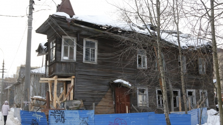 В ожидании реставрации дом Брагина в Архангельске может остаться без эркера