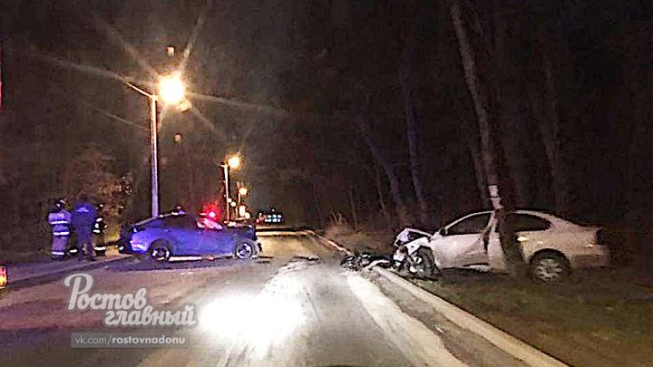 В Ростове в лобовом ДТП погибла 19-летняя девушка