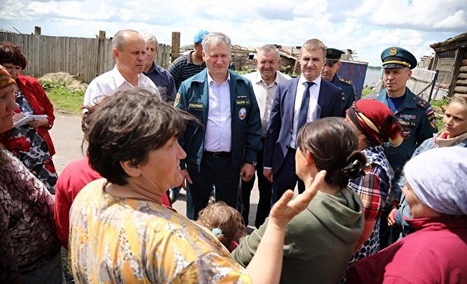 Более 1 млн рублей выделило правительство области на восстановление домов в Малом Песьяново