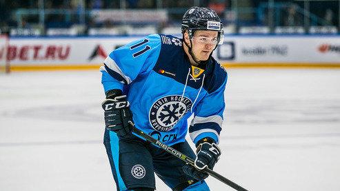 Хоккейный клуб «Сибирь» расстался с одним из легионеров