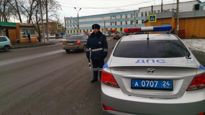 Два дня инспекторы будут ловить по городу перебегающих дорогу пешеходов