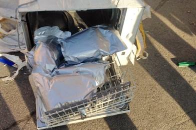 В посудомоечной машине нашли 8 кг наркотиков