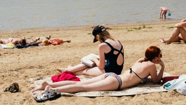 Омские синоптики пообещали жаркую погоду в конце рабочей недели