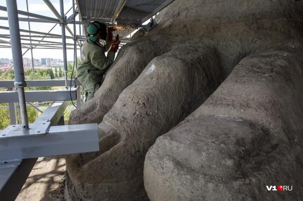 Монумент планируют открыть к 75-летию Победы
