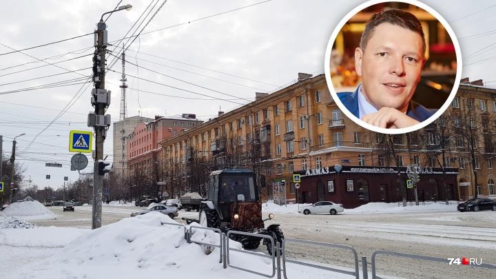 «По отчётам пирамиду Хеопса построили»: предприниматель раскритиковал очистку Челябинска от снега
