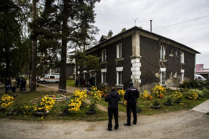 В сентябре в квартале, который мэрия отдала под перестройку, произошёл взрыв