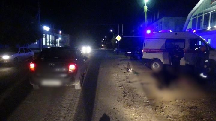 В Курганской области на выходных погибли два пешехода