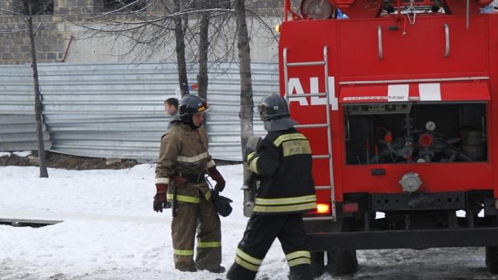 Пожилой челябинец погиб на пожаре в Металлургическом районе