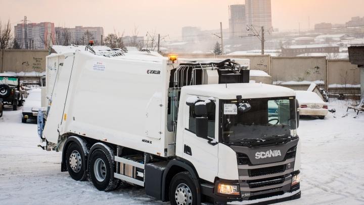 Современные мусоровозы выйдут на улицы Красноярска