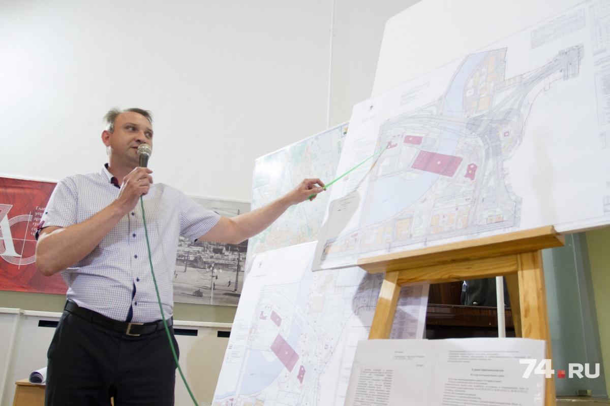 В новом проекте уточнили все параметры застройки возле набережной реки Миасс