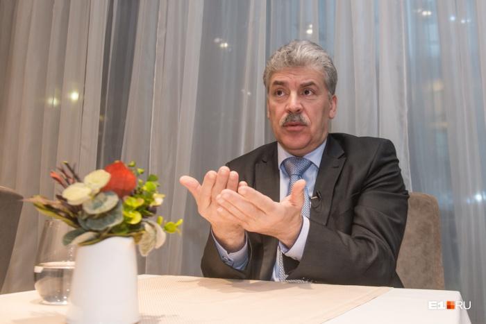 Павел Грудинин —один из двух уже зарегистрированных кандидатов в президенты