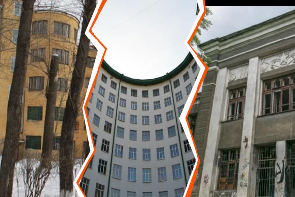 Не все здания, которые находятся под угрозой, пустуют