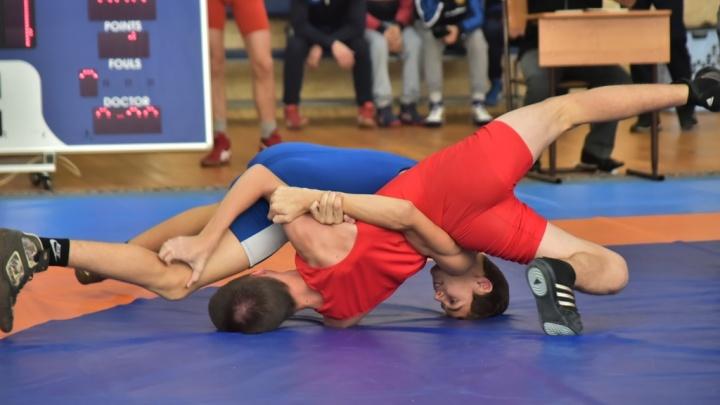 На турнире борцов-вольников среди подростков красноярцы взяли 30 медалей