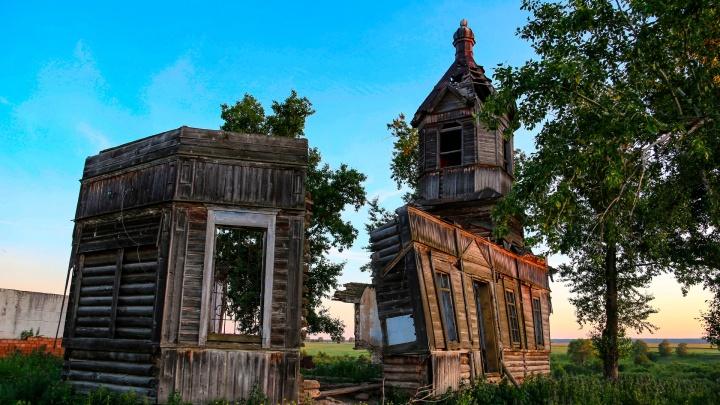 Бог простит: в Башкирии рассыпался один из уникальных храмов