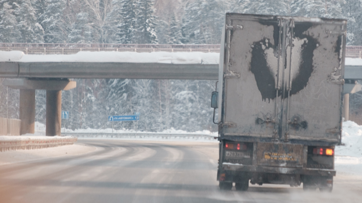 В Прикамье на два дня ограничили движение грузовиков