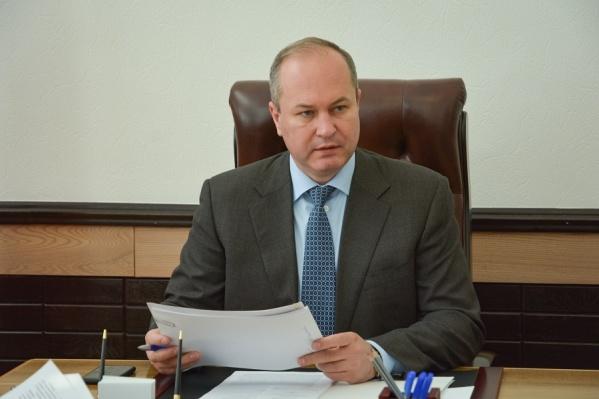 Виталий Кушнарев проработал на этой должности два с половиной года