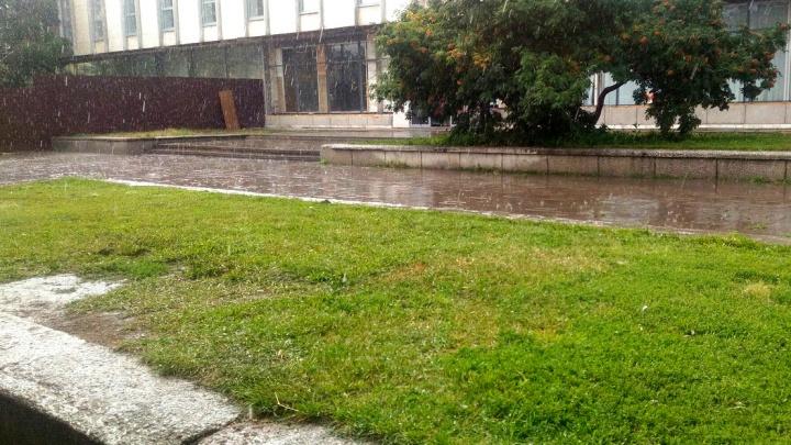 Омские синоптики спрогнозировали на всю неделю теплую погоду и дожди