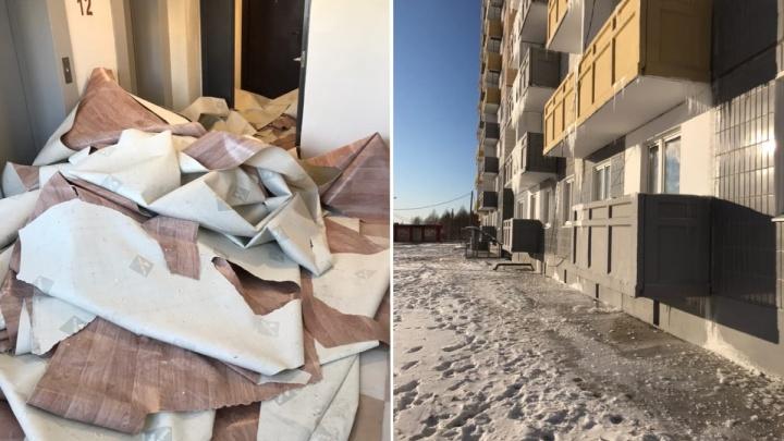 «Сибиряк» рассказал, что будут делать с жильцами затопленной новостройки на Ольховой