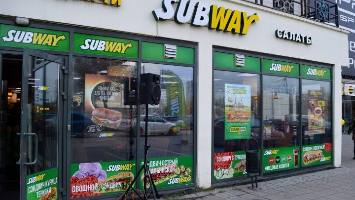 В центре Перми закрылись два ресторана быстрого питания Subway