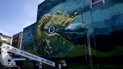 В Омске появятся пять больших граффити