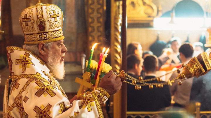 Владыка Сергий проведет пасхальную службу в Софийском соборе