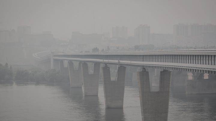 В Новосибирске зафиксировали повышенный уровень загрязнения воздуха