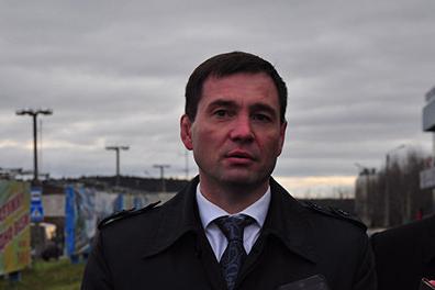 Андрей Осипов прилетел в Челябинск из Мурманска