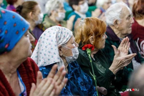 Средняя пенсия в Волгограде меньше 14 тысяч рублей