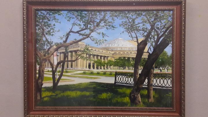 Городские и областные чиновники заказали у неизвестных художников картины маслом за 400 тысяч