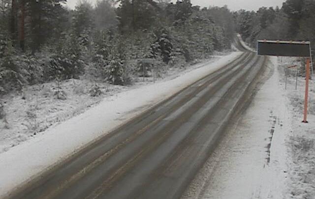 Трассы Красноярского края занесло снегом. МЧС предупреждает о гололеде